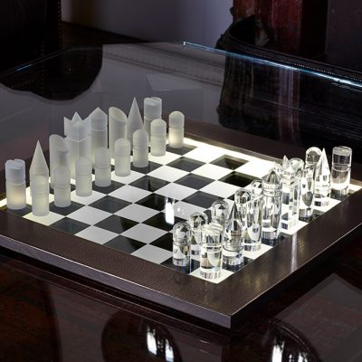 Chess Set by Ben Rousseau