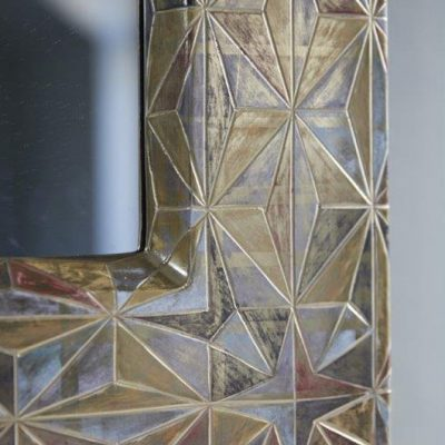 Geometric Mirror (detail) by Tennant & Tennant
