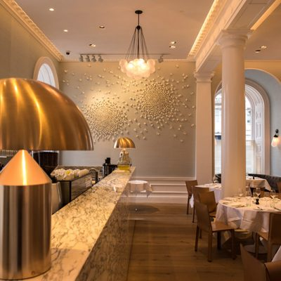 Spring Restaurant Blossoms at Somerset House by Valéria Nascimento