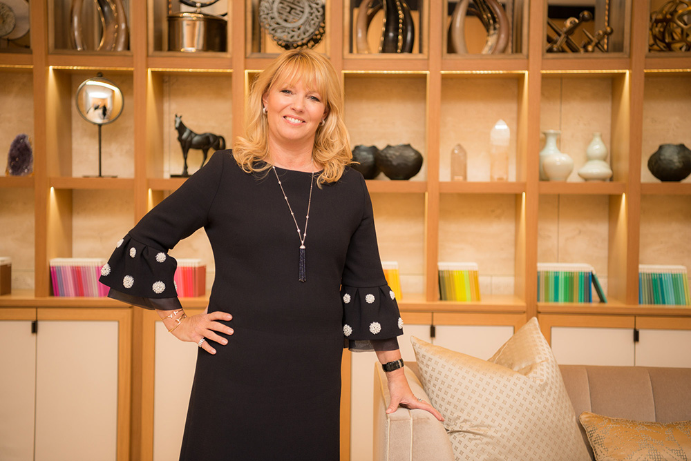 Karen Howes, CEO and Founder of interior design studio Taylor Howes