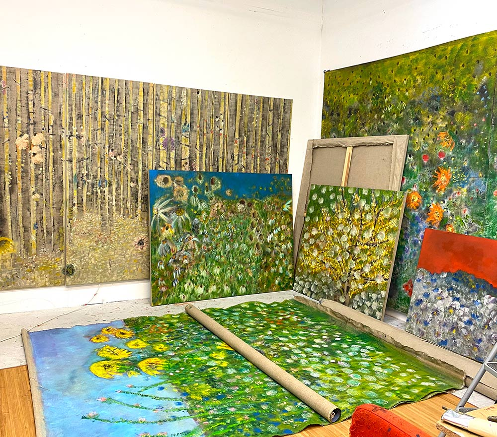Diane Chappalley's studio