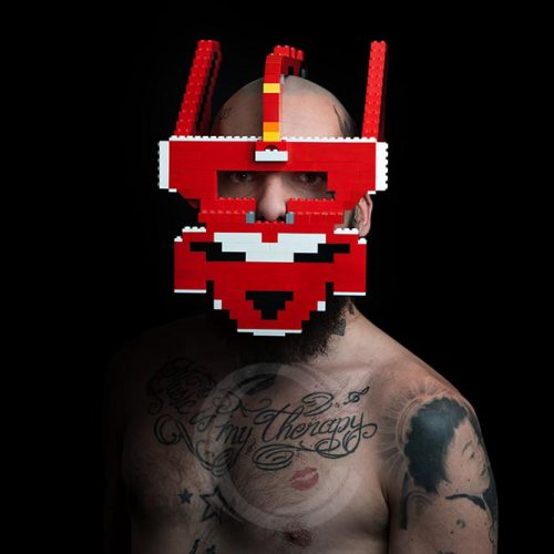 Wesley part of the Lego Warriors series by Agenda Brown of Visual Marvelry in collaboration with Bwoy Wonder